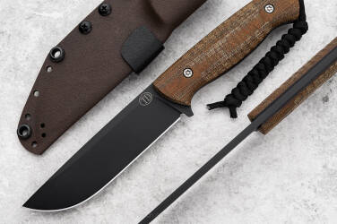 NÓŻ SURVIVALOWY RATEL II MICARTA  NZ3 13 TD