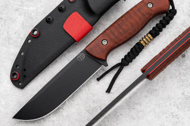 NÓŻ SURVIVALOWY RATEL II MICARTA  NZ3 11 TD