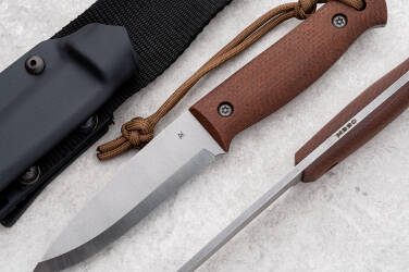 NÓŻ SURVIVALOWY BUSHCRAFT 3 M390 AK